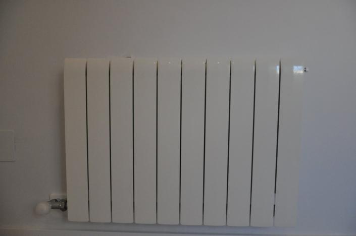 instalación de radiador reformas
