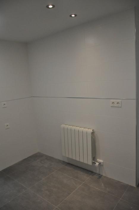 pared y radiador
