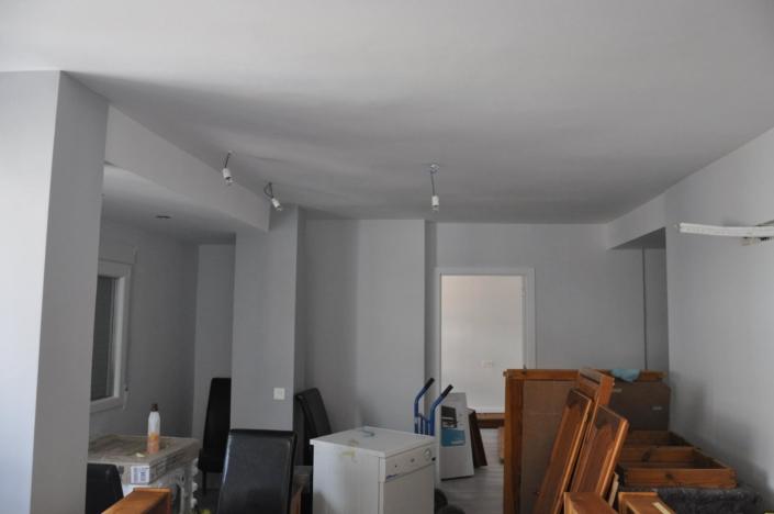 instalación de luces en habitación reformada en granada
