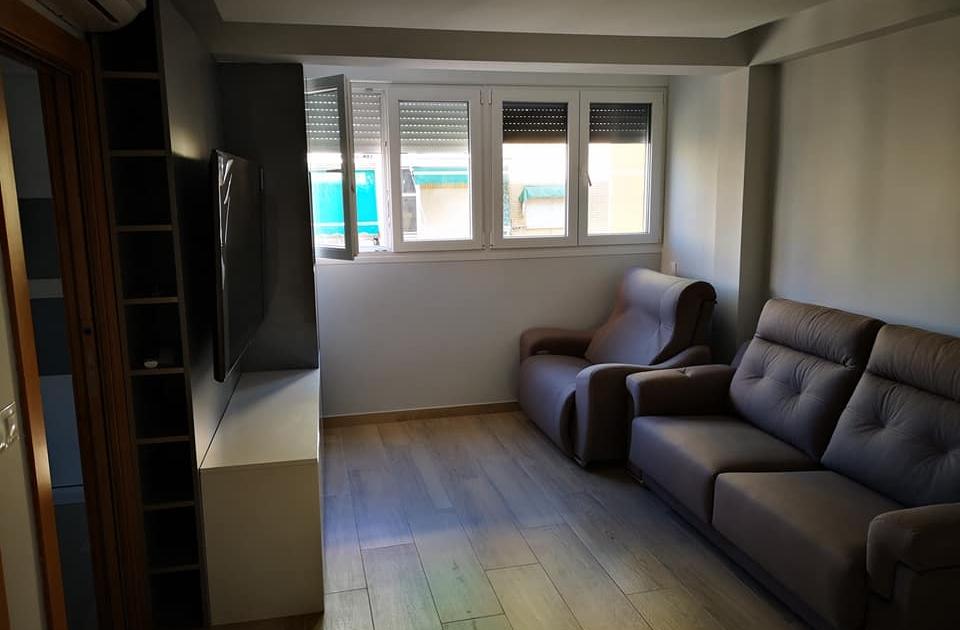 Reforma piso - Salon